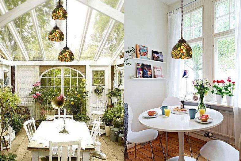 Đèn trang trí phòng bếp